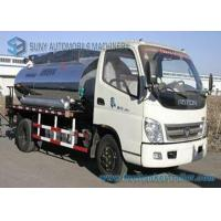 Wholesale Foton 2000 L - 4000 L Small Bitumen Asphalt distribution truck 95hp from china suppliers