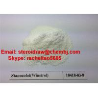 Wholesale China high purity Legal Oral Steroids Powder Stanozolol/Winstrol CAS 10418-03-8 for Muscle Building from china suppliers