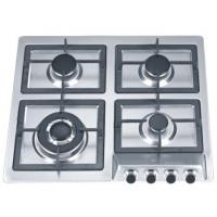 Wholesale Kitchen Built In Stainless Steel Gas Hob With Cast Iron Pan Supports from china suppliers