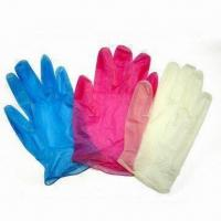 Wholesale Disposable PVC Gloves, Suitable for Medical Use, Measures S, M, L and XL from china suppliers