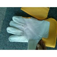 "Wholesale 10.5"" Safety Working Gloves With Pasted Cuff For Warehouse Work / Construction full palm protective hand glove from china suppliers"