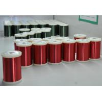 Wholesale Red / Green Enamel Ultra Fine Copper Wire 0.016 - 0.8mm For Mini Transformers from china suppliers