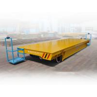 Buy cheap Busbar powered bogie heavy duty industrial material trolley electrical cars for sale from wholesalers