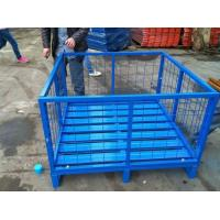 Wholesale HOT selling warehouse storage heavy duty stacking steel pallet from china suppliers