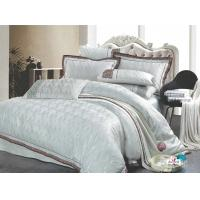 Wholesale Complete 100 % Satin Cotton White Decorative Jacquard Polyester Bed Sets Queen from china suppliers