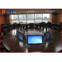 Wholesale 73 Mm Super Thin Office Meeting Room LCD Computer Lift With 15.6 Inch Touch Screen from china suppliers