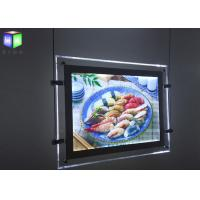 Wholesale Magnetic Double Sided LED Light Box Advertisment For Menu Board 240 Volt 50 Hz from china suppliers