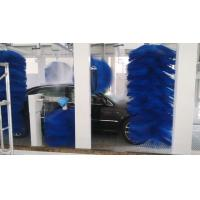 Wholesale Low Noise Roll Car Wash With Abundant Foam , Big-diameter Wheel Blue Brush from china suppliers