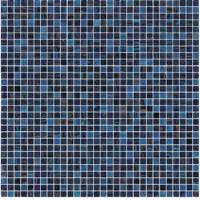 Wholesale Great design dark blue gold line glass mosaic mix pattern boarder from china suppliers