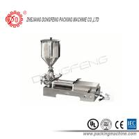 Buy cheap Double Heads Pneumatic stainless steel Paste Filling Machine / Oil Bottle Filling Machine from wholesalers
