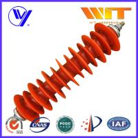 Wholesale 60KV 5KA High Voltage Polymeric Lightning Arrester for Power Station from china suppliers