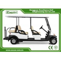Wholesale EXCAR  CE Approved Hotel Elegant 6 Person Electric Golf Buggy from china suppliers