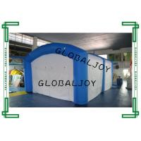 Wholesale Blue PVC Tarpaulin Large Inflatable Tent For Events , Inflatable Air Tent from china suppliers
