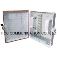 Wholesale FTTX Fiber Optic Patch Panel Terminal Box 96 Core Wall Mount And Pole Mount Application from china suppliers