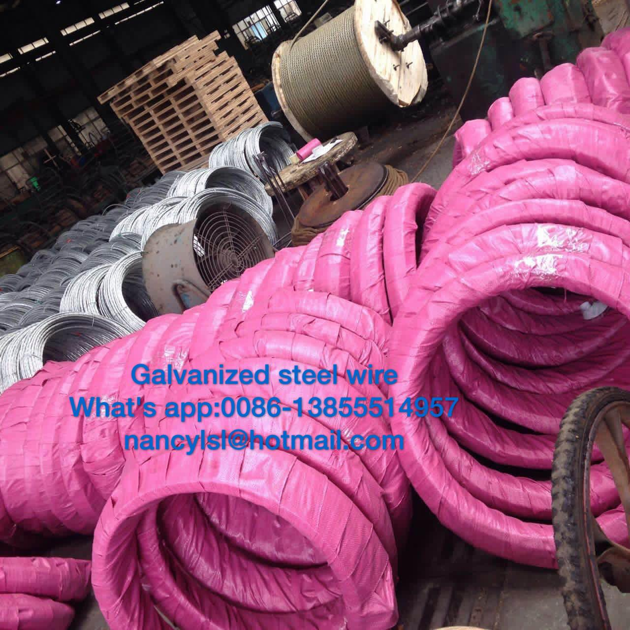 Wholesale Grade700-Grade1300 Steel Messenger Cable Galvanized Steel Wire Strand For Stay Wire As Per BS183 from china suppliers
