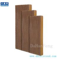 Wholesale DHF 6090 cooling pad/ evaporative cooling pad/ wet pad from china suppliers