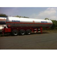Wholesale 3x13T BPW Axle Stainless Steel Liquefied Gas Tanker Truck 10,435 US Gallon from china suppliers