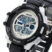 Wholesale Ohsen Silicone Waterproof Swimming Watches Digital With Backlight from china suppliers