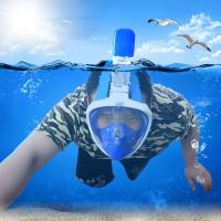 Quality full snorkel mask full face snorkel mask snorkel mask easy breath snorkel mask with gopro for sale
