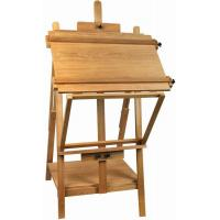 Wholesale Portable Table Top Painting Easels For Large Frame , Tabletop Drawing Board Easel 128cm Height from china suppliers