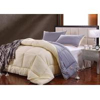 Wholesale Contemporary White Silk Bedding Sets Quilt Pillowcase Customized from china suppliers