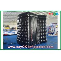 Wholesale PVC Coating Black Inflatable Photo Booth Rental Waterproof Strong Picture Box from china suppliers