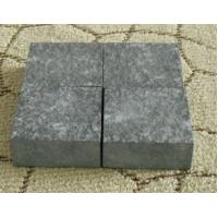 Wholesale G684 Fuding Black Granite Basalt  Small Slab Tile Polished Flamed Leather Finished from china suppliers