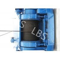 Wholesale Mining Underground Hydraulic Crane Winch High Strength Steel With Bule / Yellow Color from china suppliers