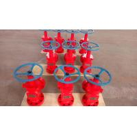 Wholesale Anti Rust Wellhead Xmas Tree Valve / API 6A Welded Oil And Gas Choke Valve from china suppliers