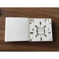 Quality SC 2 Ports Fiber Distribution Box Indoor Faceplate 86 Type For Networking for sale