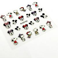 Wholesale The cartoon Nail Art Decals with Animal printing , Glitter on it from china suppliers