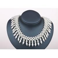 Wholesale Handmade Designer Wedding Chunky Faux Pearl Collar Necklaces Jewellery from china suppliers