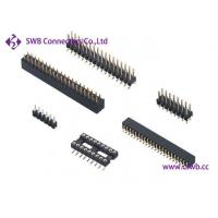 Wholesale SMT And DIP Board To Board Round Pin Connector UL E350787 UL94V-0 from china suppliers