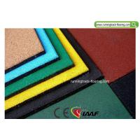 Wholesale Recycled Playground Rubber Mats / Sport Court Flooring 50*50*2cm from china suppliers