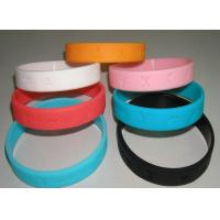 Wholesale Personalized and Colorful Different silicone Custom Rubber Bracelets for promotion gift from china suppliers