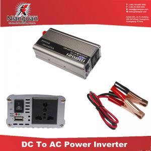 Quality 1200W 12V to 220V AC Power Inverter / AC Power Inverter/Car Power Inverter for sale