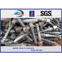 Wholesale Stainless Steel Rail Screw Spike 5.6 Grade For Railway Fasteners from china suppliers