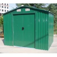 Wholesale 6x4 Galvanized Steel Sheet Apex Steel Garden Sheds With Sliding Door For Easy Install from china suppliers