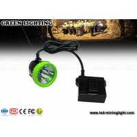 Wholesale 3.7V 11.2Ah Li-Ion Battery LED Mining Light / LED Cap Lamp , Charging Time 8 Hours from china suppliers