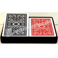 Wholesale 2 Jumbo Index Royal Plastic Playing Cards For Poker Cheating Games from china suppliers