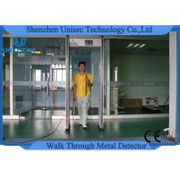 Wholesale Door Frame Multi Zone Metal Detector Archway / Body Walk Through Security Gate from china suppliers