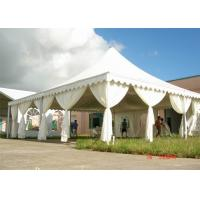 Wholesale Stable White High Peak Tents Marquees For Outside Wedding Receptions from china suppliers