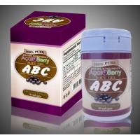 Wholesale Original ABC Acai Berry Capsules Of Natural Slimming Pills For Women Waist Loss Weight from china suppliers