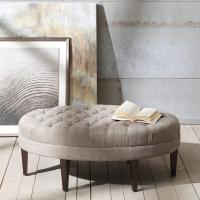 Wholesale Ship KD Leg Upholstered Bench Seat Lounge Room , Fabric Covered Bench Storage from china suppliers