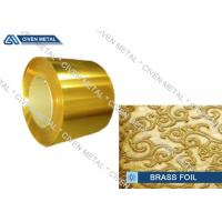 Wholesale High precision brass foil C27000 for advanced industrial representative from china suppliers
