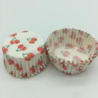 Wholesale Cherry Pattern Greaseless Cupcake Liners, Muffin Cake Paper Cups For Children Party from china suppliers
