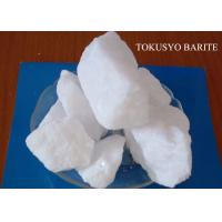 Wholesale Chemical Mineral Barite Ore / Heavy Spar 4.0 - 4.40 Gravity Drilling Fluid Additives from china suppliers