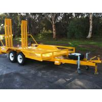 Wholesale 3200 KG 8x5 Tandem Plant Trailer , Heavy Duty Equipment Trailers For Transport from china suppliers