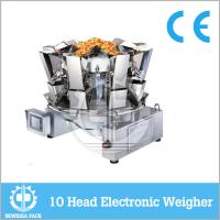 Wholesale High Accuracy 10 Heads Multihead Weighing Machine , Electronic Combination Weigher from china suppliers