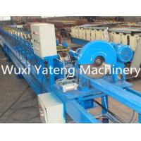 Wholesale Downspout Metal Roofing Roll Former With Crimping Machine , Post / Tube Forming Machine 8 Ton from china suppliers